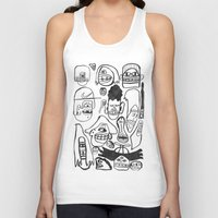 faces Tank Tops featuring Faces by GOONS
