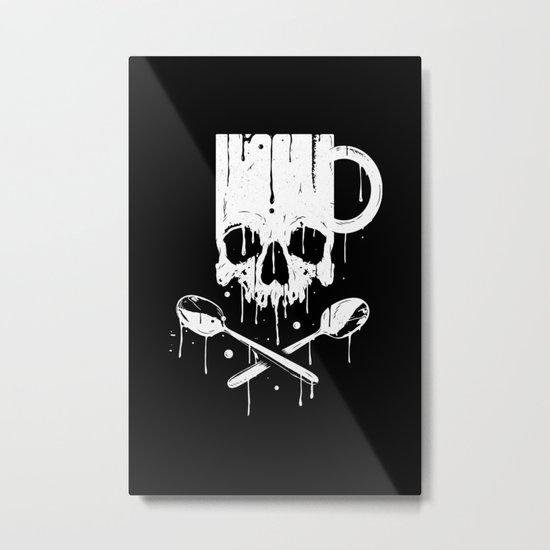 Coffee Pirates Metal Print
