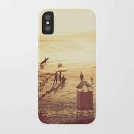 La Barra Sunset iPhone Case