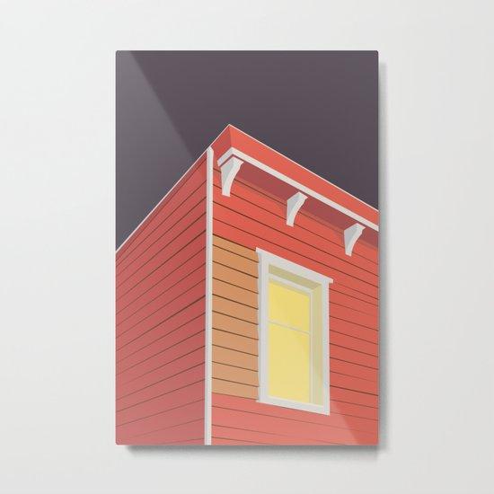 RØDE HUS Metal Print
