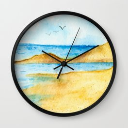 Bright Summer's Day Wall Clock