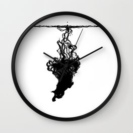 Inkcat3 Wall Clock