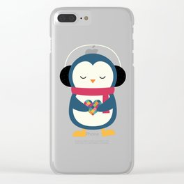 Take My Heart Clear iPhone Case