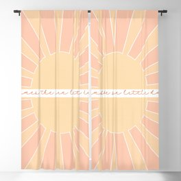 Here Comes The Sun, Little Darling / Original Print Blackout Curtain