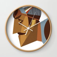 Maino Color Wall Clock