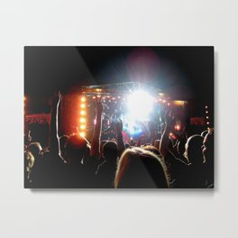 Rockin' In The Free World Metal Print