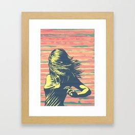 Lookback Framed Art Print