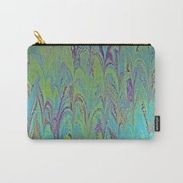 Icarus Palm Water Marbling Carry-All Pouch
