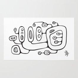 Orbs N Lines - Broadcast Rug