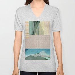 Daydream collage Unisex V-Neck