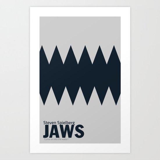 Jaws | Minimalist Poster Art Print