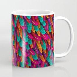 Varicoloured feathers Coffee Mug