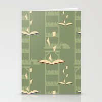 library Stationery Cards featuring Library by S. Vaeth