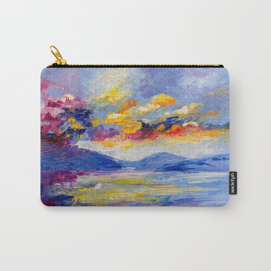 Bright cloud Carry-All Pouch