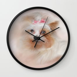 Jazzy Painting Wall Clock