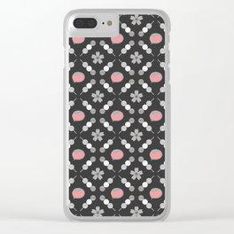 Hanami Nummies | Black Sakura Clear iPhone Case