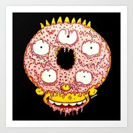 Donut Boy Art Print