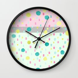 SELENE - NEAPOLITON CONFETTI CAKE Wall Clock