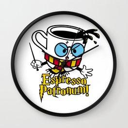 Espresso Patronum! Wall Clock