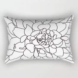 Dahlia 3 Rectangular Pillow