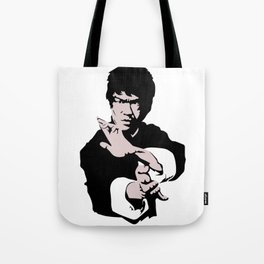 Kung Fu Dragon Master Jet Kune Do Fighter Unique Artwork Tote Bag
