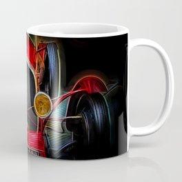 Fractal Red vintage car Coffee Mug