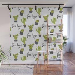 Free hugs cactus Wall Mural