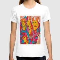 rabbits T-shirts featuring - rabbits - by Magdalla Del Fresto