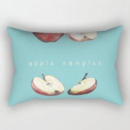 Apple Samples. Rectangular Pillow