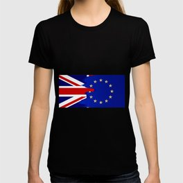 Union Jack and EU Blend T-shirt
