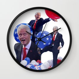 Bill's Balloons Wall Clock