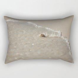 Seashell in the Waves Rectangular Pillow
