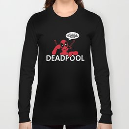 Death in the Deep End Long Sleeve T-shirt