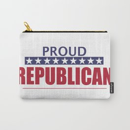 Proud Republican Carry-All Pouch