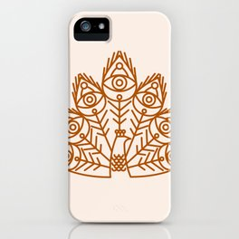 Cosmic Peacock iPhone Case