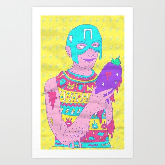 My Friend Peter Art Print