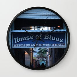 Hall of House of Blues Wall Clock