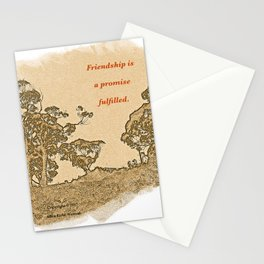 """Trees Of Catalina #2""/Simple Friendship Stationery Cards"