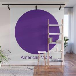American Violet Wall Mural