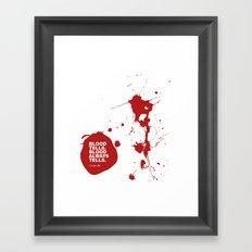 Dexter no.2 Framed Art Print