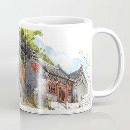 Chinese Temple in Qingdao Coffee Mug