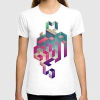 spires T-shirts featuring isyhyrtt dyymyndd spyyre by Spires