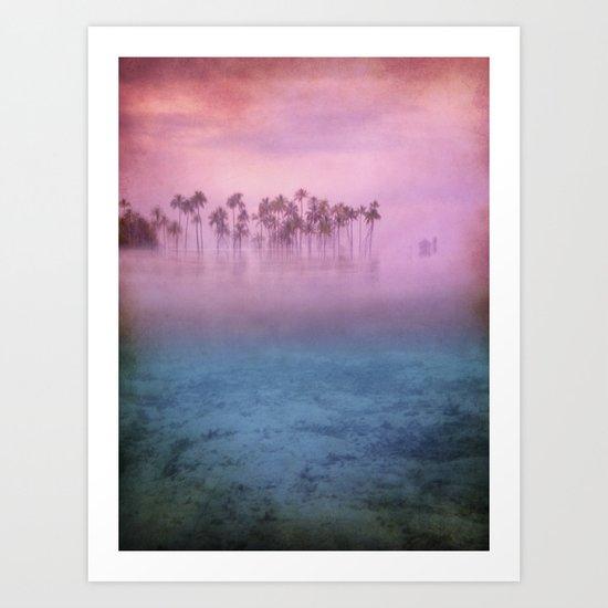 dreams in the paradise Art Print