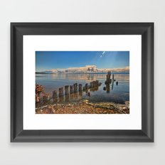 Pilings Framed Art Print