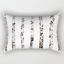 Scandinavian Birch Rectangular Pillow