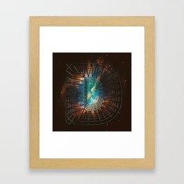 Letter Series: D Framed Art Print