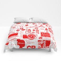 Graphics Design student poster Comforters