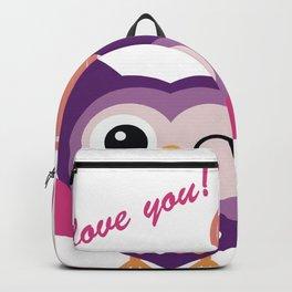 Cartoon Lovely Owl Backpack