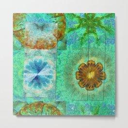 Superinstitute Open Flower  ID:16165-114222-70591 Metal Print