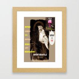 Title: TWI Studio Logo 2 -Hollyweird, Toronto, Canada Framed Art Print